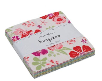 """Bungalow Charm Pack by Kate Spain for Moda, 42 - 5"""" squares"""