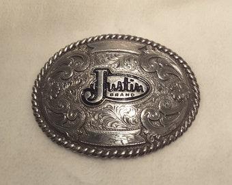 Justin Brand Belt Buckle