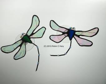 Dragonfly Suncatcher with Swarovski crystals