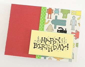 Happy Birthday Card Robot