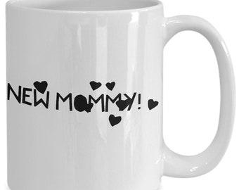 New Mommy pregnancy maternity mug announcement