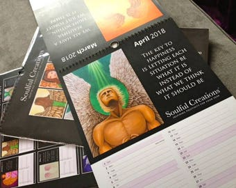 Angel Calendar 2018 By Soulful Creations