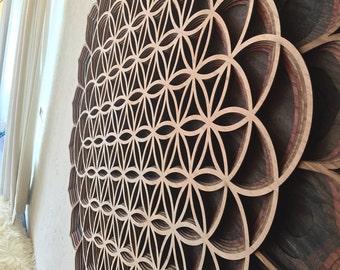 "44"" Flower of Life Mandala Sacred Geometry Mandala"