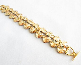 Heart bracelet made WITH SWAROVSKI® element