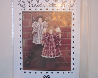 "The Cornell Collection nb161, Noelle,12"" angel doll pattern,vintage"