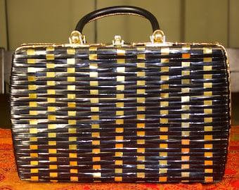 Black and Gold Handbag made by Princess Charming by Atlas