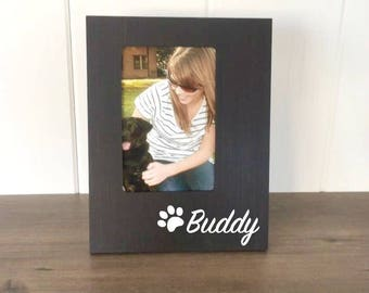 Personalized Dog Picture Frame, Custom Dog Gift, Gift for Dog Mom, Dog Memorial, Dog Lover Gift, Pet Memorial, New Puppy Gift, Best Dog Ever