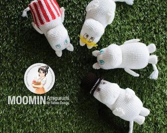 PDF Pattern - Amigurumi Moomin