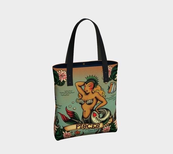 Pisces - Tattoo Premium Tote Bag