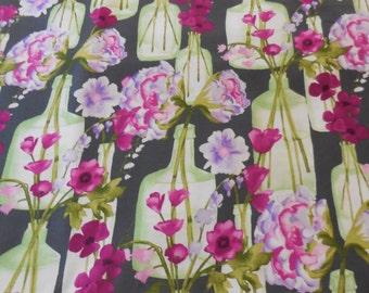 Posie Bouquet  Michael Miller Fabric 1 Yard