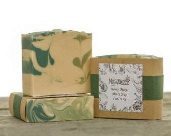 Rosey, Mary, Minty Soap