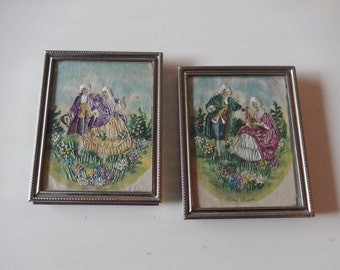 EMBROIDERED ROMANCE PICTURES