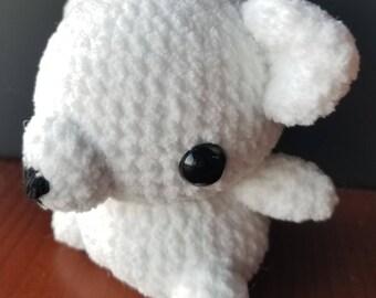 Chibi Polar Bear Amigurumi