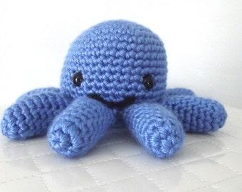 Crochet Octopus Pattern Crochet Pattern Octopus Stuffed Animal Octopus Toy Easy Crochet Pattern Amigurumi Crochet Instant Download PDF