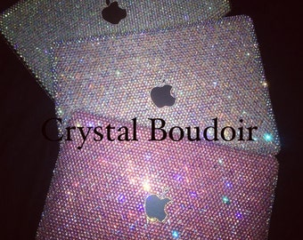 Custom Crystal Personalised Laptop Cover. Made to order, Any Colour and Size Available.