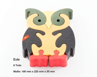 Wooden puzzle Owl