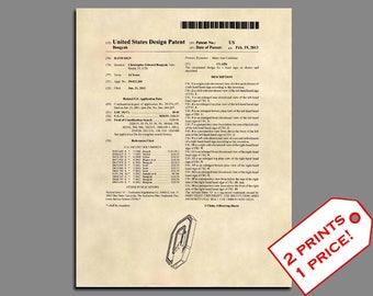 Football Patent - Ohio State Buckeyes Logo Patent Art - Football Art Prints - Patent Prints - Football Wall Art - Football Prints  - 480