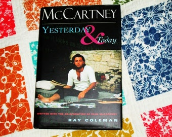 McCartney Yesterday and Today hardback book First Edition 1995 Beatles