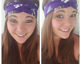 Kansas State University, K-State, KSU Wildcats headband