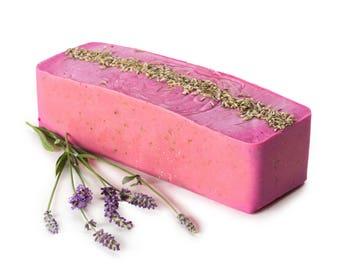 Lavender Soap Loaf FREE SHIPPING, Lavender Soap Loaves, Natural Soap, Wholesale Soap, Bulk Soap Bulk Soap Log Cold Process Soap, Vegan Soap,