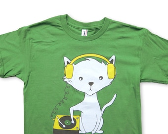 DJ Kitty Cat YOUTH T-shirt