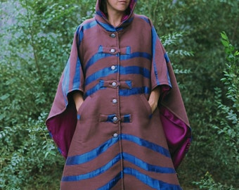 Hooded Wool Capes
