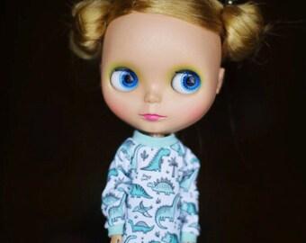 Sweatshirt for Blythe doll_Licca_Azone_jersey_long_blythe boy