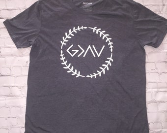 God is Greater Than the Highs and Lows HTV Shirt