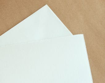 Fine Italian Stationery - Flat Notecards