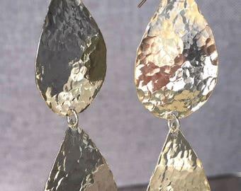 Chandelier Earrings, Large Earrings, Silver Earrings, Drop Earrings, Statement Earrings, Dangle Earrings