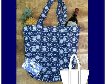 Fold-able Shopping Bag Sewing Pattern
