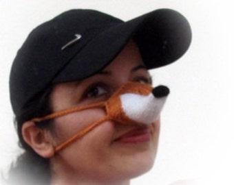 Fox Nose Warmer or arctic fox