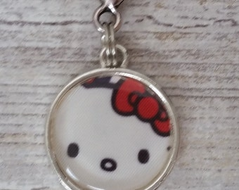Hello kitty out to sea clip. Tokidoki key fob. necklace charm planner charm