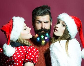 SALE Quantum Beard Lights Beard Fairy Lights Baubles for the Beard Baubles for the Beard 6 Beard Art Baubles Next Generation
