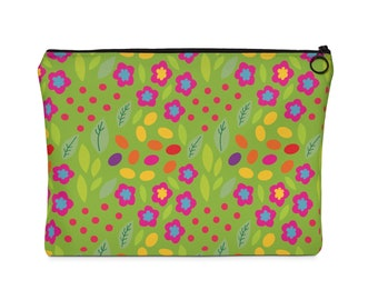 In The Garden    Carry All Pouch  Flat