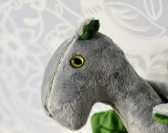 Willow Dragon Silver and Green