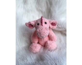 Soft crochet Dragon