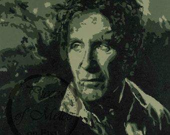 Doctor Who - Eighth Doctor - Paul McGann - Print of Acrylic on Canvas