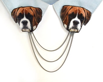 boxer dog gift , dog lover gift , boxer jewelry , boxer present , dog art gift , boxer dog memorial , gift for dog lover