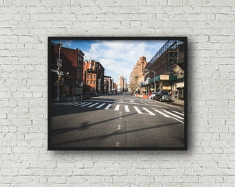 Greenwich Village Street Photograph / Digital Download / Fine Art Print/ Wall Art / Home Decor / Color Photograph / Travel Photography