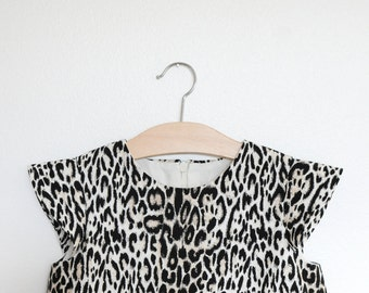 SAMPLE SALE   miao   modern girl dress   size three and four