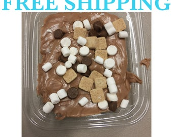 Free Shipping, S'mores Chocolate Fudge, Creamy Fudge
