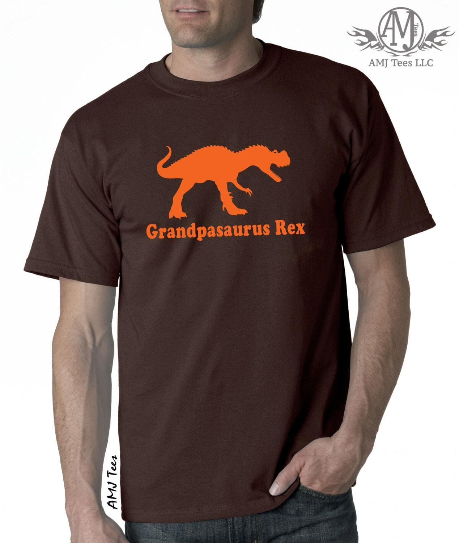 Grandpasaurus trex dinosaur shirt, funny graphic shirt for men, gifts for grandpa