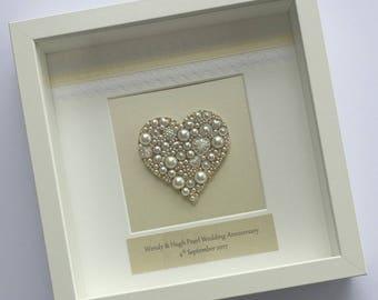 Anniversary Frame - A beautiful gift to celebrate a special occasion with loved ones and friends