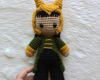 Avengers Inspired Crochet Loki Doll!