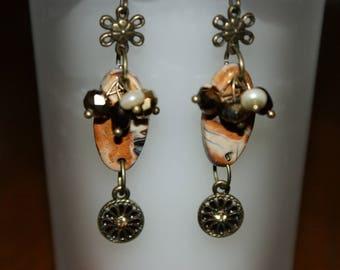 autumn Jasper earrings