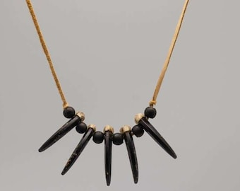 Realistic Wolf Claw Necklace : 5-claw (560-505)