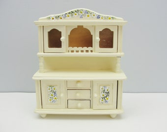 Vintage miniature furniture china cupboard