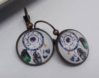 """Earrings cabochon """"dream"""""""