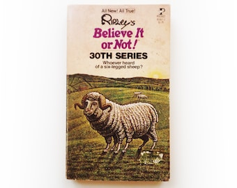 Ripley's Believe It or Not! - 30th Series - vintage paperback book - 1979